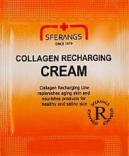 Духи, Парфюмерия, косметика Крем для восстановления синтеза коллагена - Sferangs Collagen Recharging Cream (пробник)
