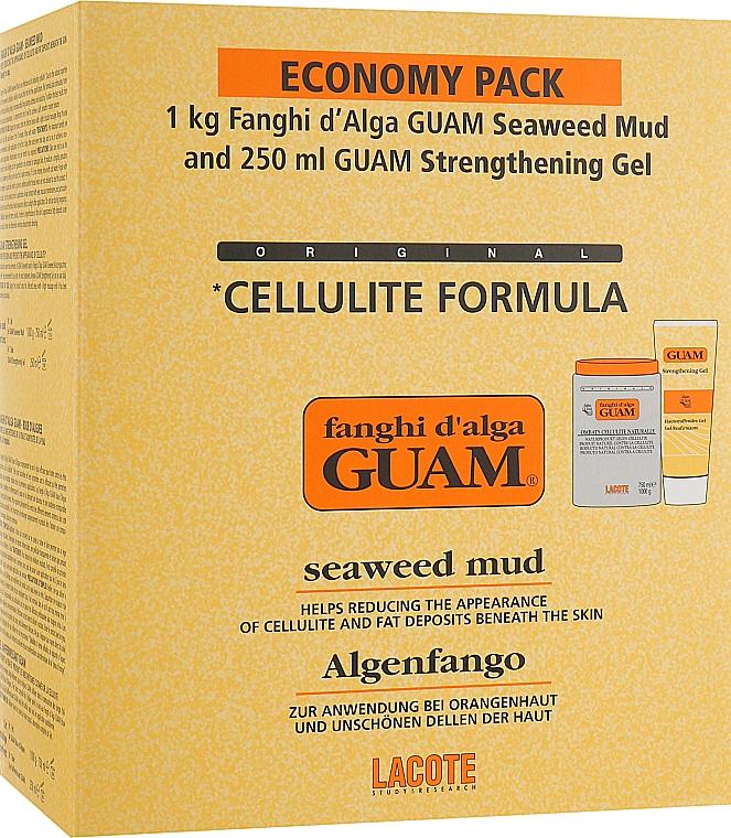 Набор - GUAM Fanghi d'Alga (mask/1000g + gel/250ml)