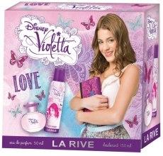 Духи, Парфюмерия, косметика La Rive Violetta Love - Набор (edp/50ml + deo/150ml)