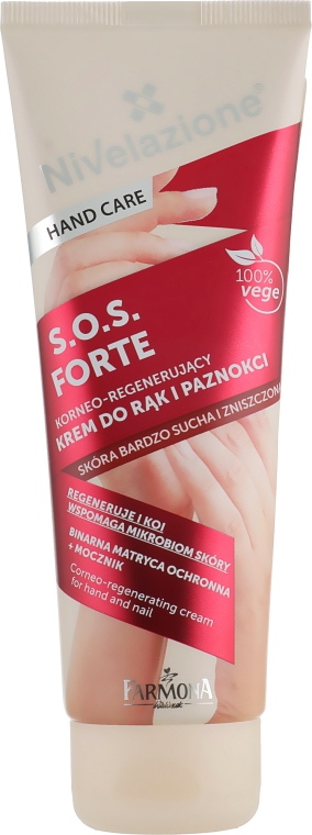 Крем для рук и ногтей - Farmona Nivelazione S.O.S. Corneo-Regenerating Cream For Hand And Nail