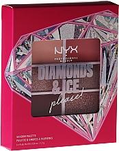 Духи, Парфюмерия, косметика Палетка теней для век - NYX Professional Makeup Diamond & Ice Shadow Palette