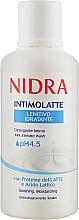 Духи, Парфюмерия, косметика Молочко для интимной гигиены с молочными протеинами - Nidra Milk Intimate Wash
