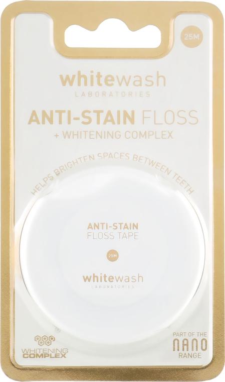 Зубная нить-флос Nano флос, против пятен - WhiteWash Laboratories
