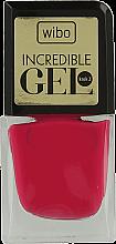 Духи, Парфюмерия, косметика Гель-лак для ногтей - Wibo Incredible Gel