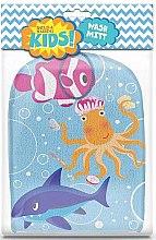Духи, Парфюмерия, косметика Мочалка-варежка - Baylis & Harding Kids Wash Mitt Aquatic Print