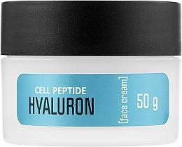 Духи, Парфюмерия, косметика Крем для лица с пептидами и гиалуроном - Bilena Cell Peptide Hyaluron Cream