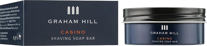 Мыло для бритья - Graham Hill Casino Shaving Soap Bar