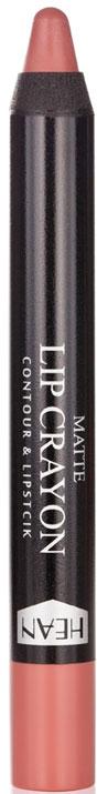 Матовая помада-карандаш для губ - Hean Matte Lip Crayon