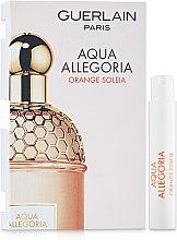 Духи, Парфюмерия, косметика Guerlain Aqua Allegoria Orange Soleia - Туалетная вода (пробник)