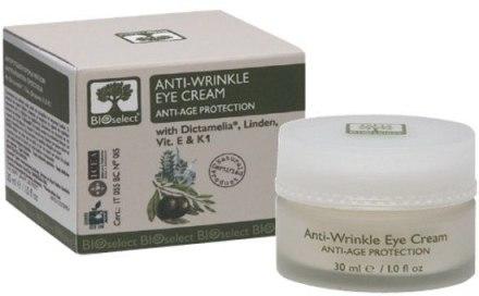 Крем для области вокруг глаз от морщин с диктамелией, витаминами Е и К - BIOselect Anti-Wrinkle Eye Cream