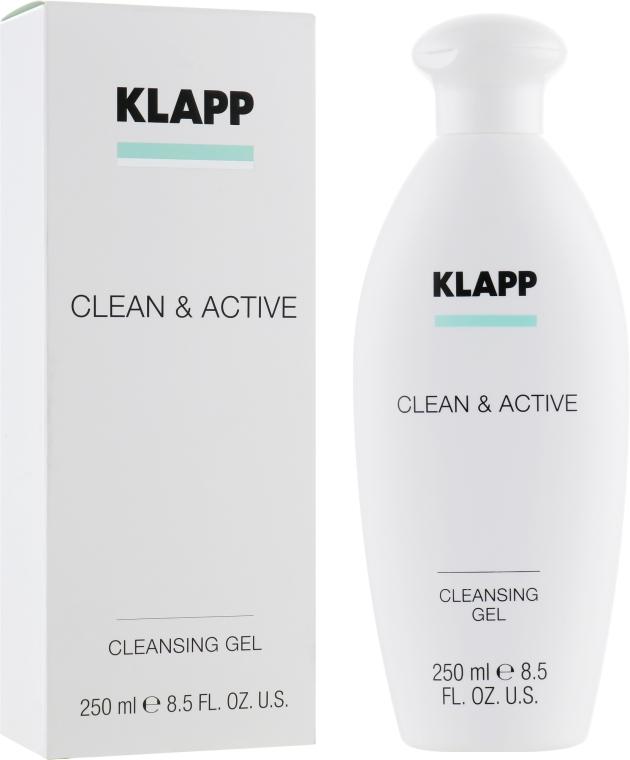 Очищающий гель - Klapp Clean & Active Cleansing Gel