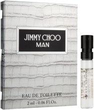 Духи, Парфюмерия, косметика Jimmy Choo Man - Туалетная вода (пробник)