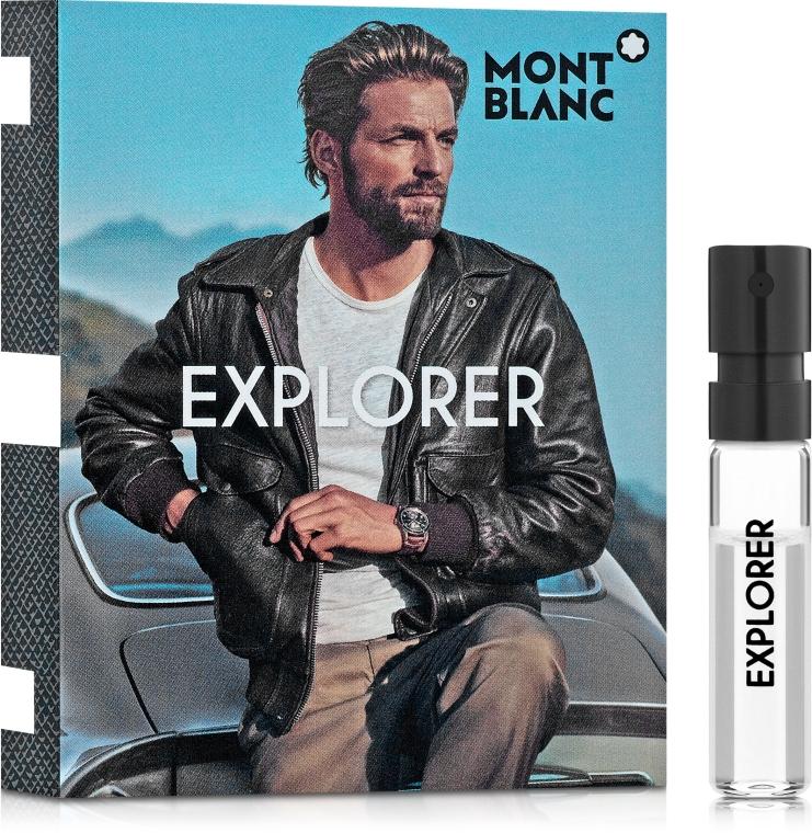 Montblanc Explorer - Парфюмированная вода (пробник)