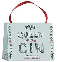 Духи, Парфюмерия, косметика Набор - Bath House Barefoot & Beautiful Queen Of The Gin (lip/balm/15g + b/salt/100g)