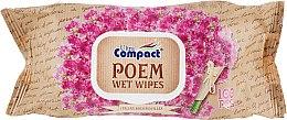 """Влажные салфетки с клапаном """"Итальянская бугенвиллия"""" - Ultra Compact Poem Wet Wipes — фото N1"""