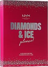 """Духи, Парфюмерия, косметика Набор """"Рождественский календарь"""" - NYX Professional Makeup Diamond & Ice Advent Calendar Makeup Set"""