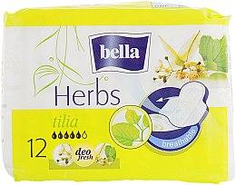 Духи, Парфюмерия, косметика Прокладки Panty Herbs Tilia, 12 шт. - Bella