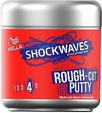 Духи, Парфюмерия, косметика Моделирующая паста для волос - Wella ShockWaves Rough-cut Putty