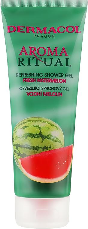 "Гель для душа освежающий ""Свежий арбуз"" - Dermacol Body Aroma Ritual Refreshing Shower Gel"