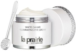 Духи, Парфюмерия, косметика Легкий укрепляющий крем для глаз с эффектом сияния - La Prairie White Caviar Illuminating Eye Cream