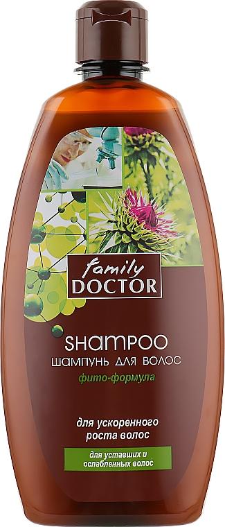 """Шампунь """"Фито-формула"""" для ускоренного роста волос - Family Doctor"""