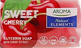 "Духи, Парфюмерия, косметика Туалетное мыло ""Сладкая вишня"" - Aroma Natural Elements Toilet Soap Sweet Cherry"