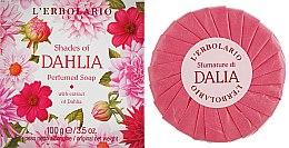 "Духи, Парфюмерия, косметика Ароматное мыло ""Георгин"" - L'erbolario Shades Of Dahlia Perfumed Soap"