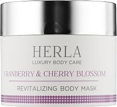 Духи, Парфюмерия, косметика Восстанавливающая маска для тела - Herla Luxury Body Care Cranberry & Cherry Blossom Revitalizing Body Mask