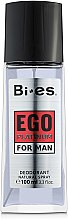 Духи, Парфюмерия, косметика Bi-Es Ego Platinum - Парфюмированный дезодорант-спрей