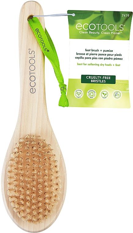 Пемза и щётка для стоп - EcoTools Foot Brush & Pumice