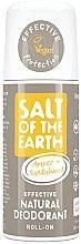 Духи, Парфюмерия, косметика Натуральный шариковый дезодорант - Salt of the Earth Amber & Sandalwood Natural Roll-On Deo