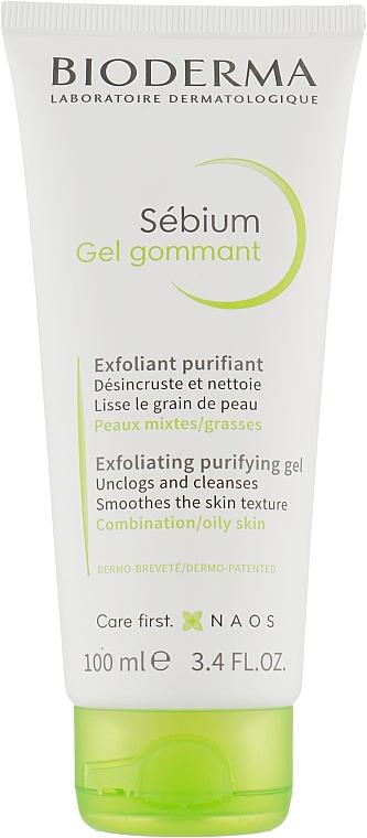 Гель-скраб с микрогранулами - Bioderma Sebium Exfoliating Purifying Gel