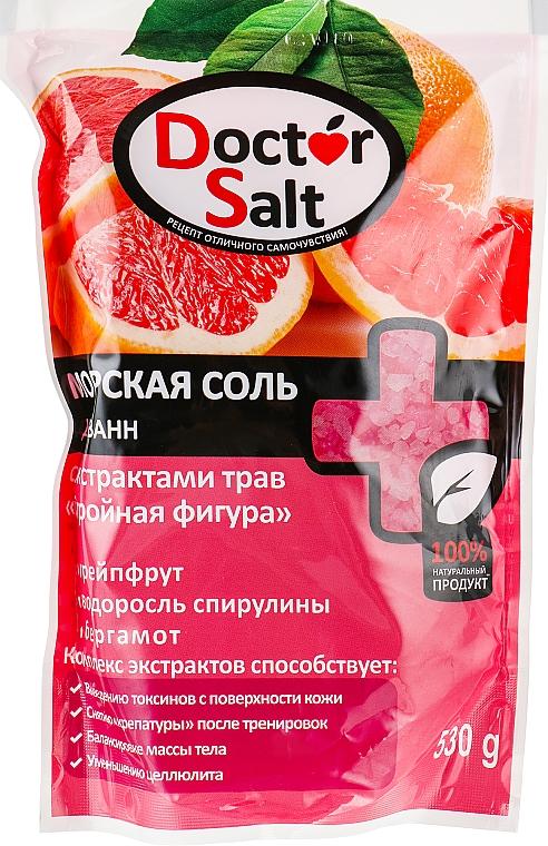 """Морская соль для ванн с экстрактами трав """"Стройная фигура"""" - Doctor Salt"""