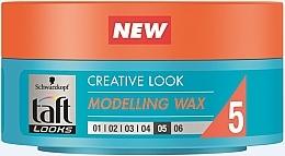 Духи, Парфюмерия, косметика Воск для волос, фиксация 5 - Taft Creative Looks Modelling Wax