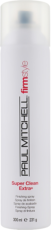 Лак сильної фіксації - Paul Mitchell Firm Style Super Clean Extra — фото N1