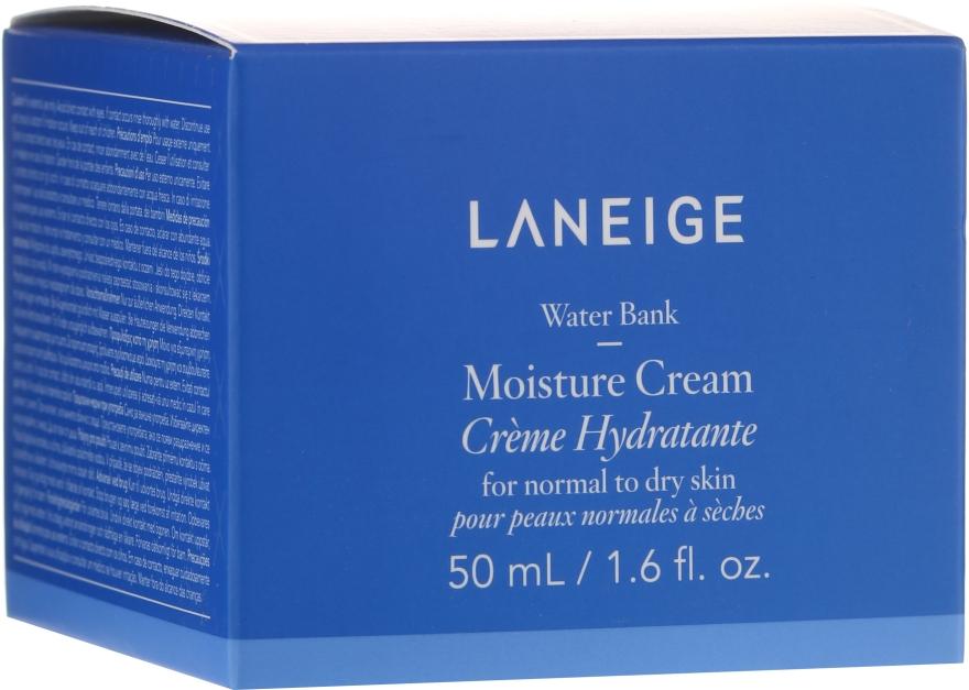Увлажняющий крем для нормальной и сухой кожи лица - Laneige Water Bank Moisture Cream