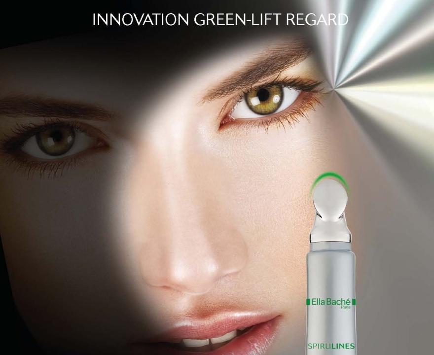 Зелений ліфтинг-догляд за контуром очей - Ella Bache Spirulines Green-Lift Regard Eyes — фото N2