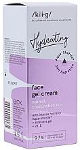 Духи, Парфюмерия, косметика Увлажняющий гель-крем для нормальной и комбинированной кожи лица - Kili·g Hydrating Face Gel Cream