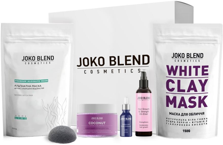 Набор - Joko Blend Relax Gift Pack (mask/150g + mask/100g + b/scr/200g + oil/10ml + h/oil/100ml + sponge)