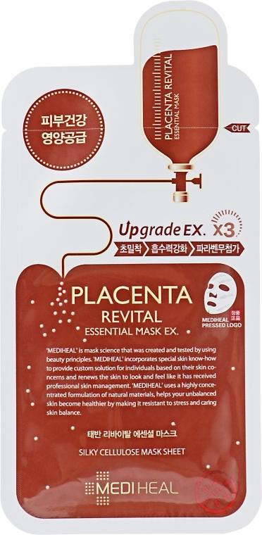 Подтягивающая тканевая маска для лица - Mediheal Placenta Revital Essential Mask