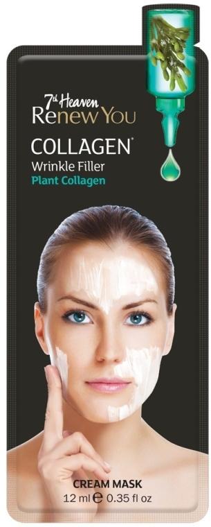 Крем-маска для лица - 7th Heaven Renew You Collagen Cream Mask