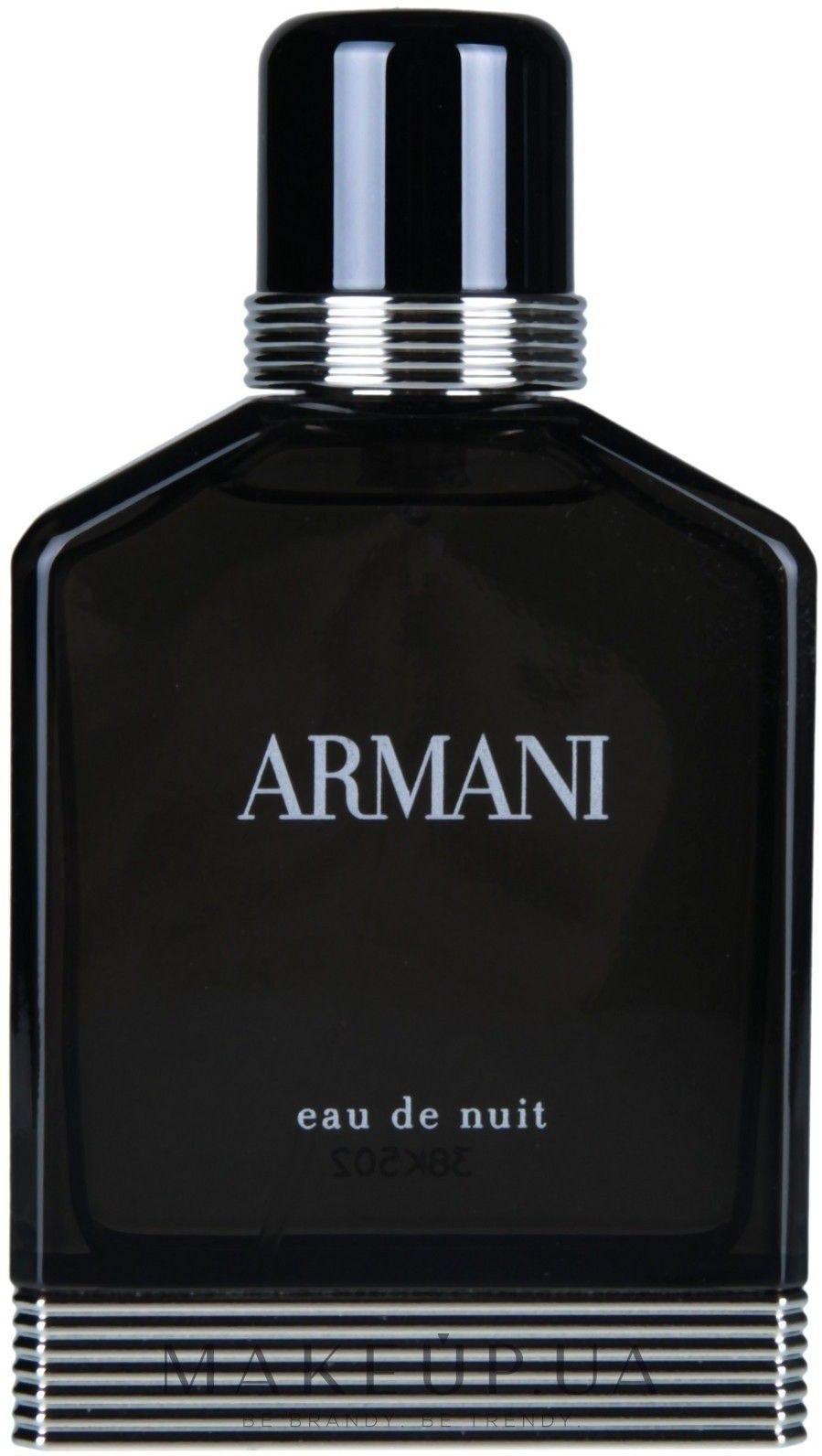 Makeup Giorgio Armani Eau De Nuit туалетная вода тестер с