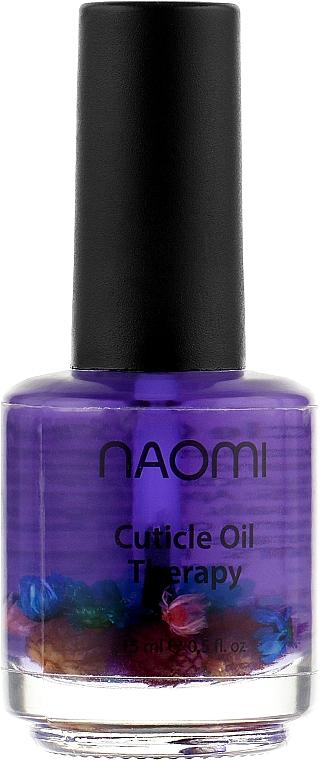 """Цветочное масло для кутикулы """"Масло виноградной косточки"""" - Naomi Cuticle Oil"""