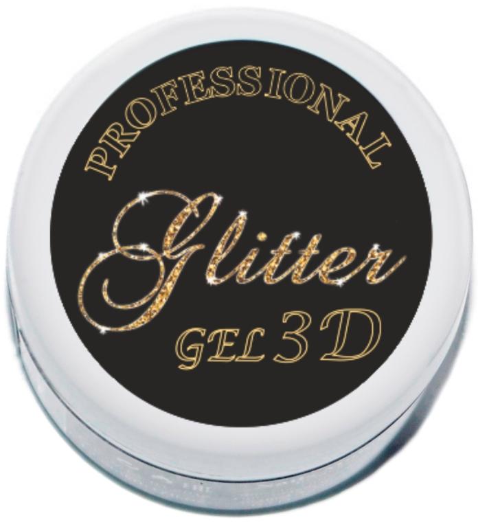 Гель-паста для нігтів - Nails Molekula 3D Gel Paste Glitter Nails — фото N1