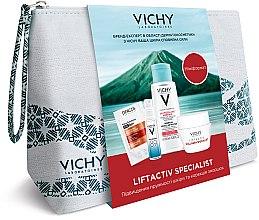 Парфумерія, косметика Комплексний набір-догляд - Vichy Liftactiv Specialist (micel/water/100ml + gel/10ml + cr/15ml + sh/6ml)