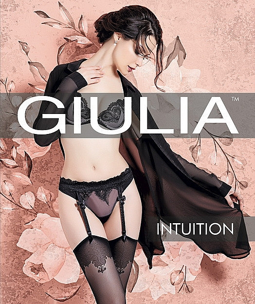 "Чулки для женщин ""Intuition Model 2"" 20 Den, nero - Giulia"