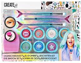 "Духи, Парфюмерия, косметика Набор теней для век ""Русалочка"" - Create It! Eye Shadow Set Mermaid"