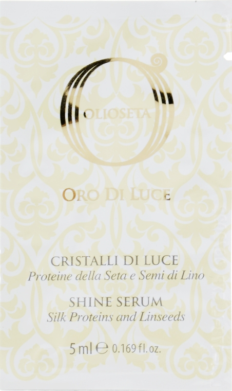 "Флюид ""Жидкие кристаллы"" с протеинами шелка - Barex Italiana Olioseta Cristalli Liquidi (мини)"