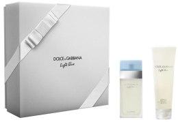Духи, Парфюмерия, косметика Dolce&Gabbana Light Blue - Набор (edt/25ml + b/cr/50ml)