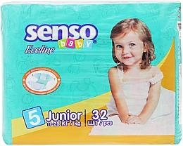 Духи, Парфюмерия, косметика Подгузники Senso Baby Ecoline Junior 5 (11-25 кг) 32 шт - Senso Baby